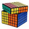 2016 Chegada Nova Professional ABS Adesivos 7x7 Magic Cube Enigma Primavera Velocidade Cubos Cubo Magico Brinquedos Educação Presente torção