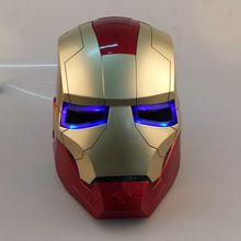 Helm Cosplay Iron Avengers