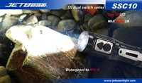 Free Shipping Original JETBEAM SSC10 Cree G2 LED 300 Lumens Flashlight Daily EDC Torch Compatible With