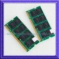 Полный Тест!! 2 ГБ 2x1 ГБ PC3200 DDR400 SODIMM 200PIN ddr 2 Г 400 МГц Ноутбук ПАМЯТИ 200-контактный SO-DIMM ОПЕРАТИВНОЙ ПАМЯТИ Бесплатная доставка!