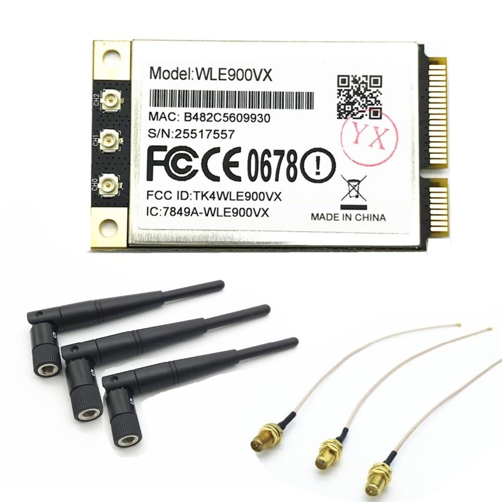 Atheros QCA9880 802.11AC 1300 Mbps 802.11AC Double Bande Sans Fil MINI PCI-E WiFi carte réseau soutien Linux Compex WLE900VX