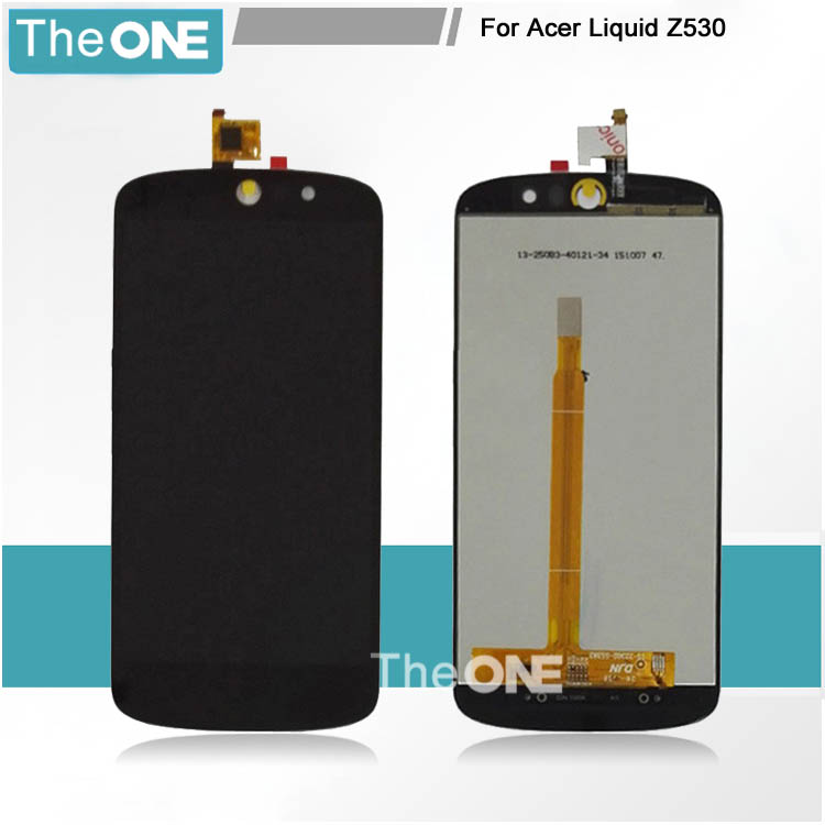 Подробнее о New 5'' For Acer Liquid Z530 LCD Display With Touch Screen Digitizer GlassSensor Assembly Replacement original new 5 black for acer liquid z530 lcd lcd display touch screen digitizer glass sensor full assembly repartment parts