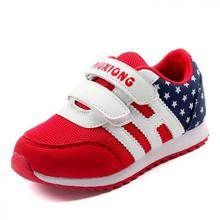 New Children Shoes Boys Girls Sport Shoes Hook Loop Kids Fashion Sneakers Comfortable Breathable Mesh Casual