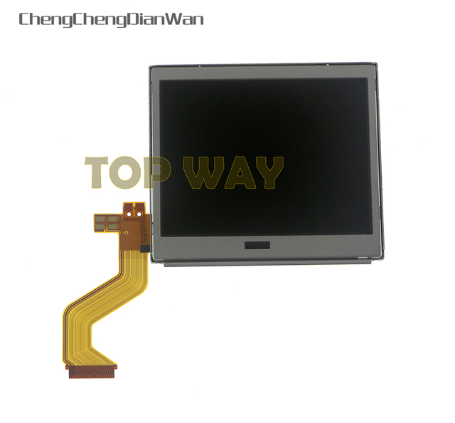 ChengChengDianWan Best Top Upper LCD Display Screen Replacement for Nintendo DS Lite For DSL For NDSL DSLite