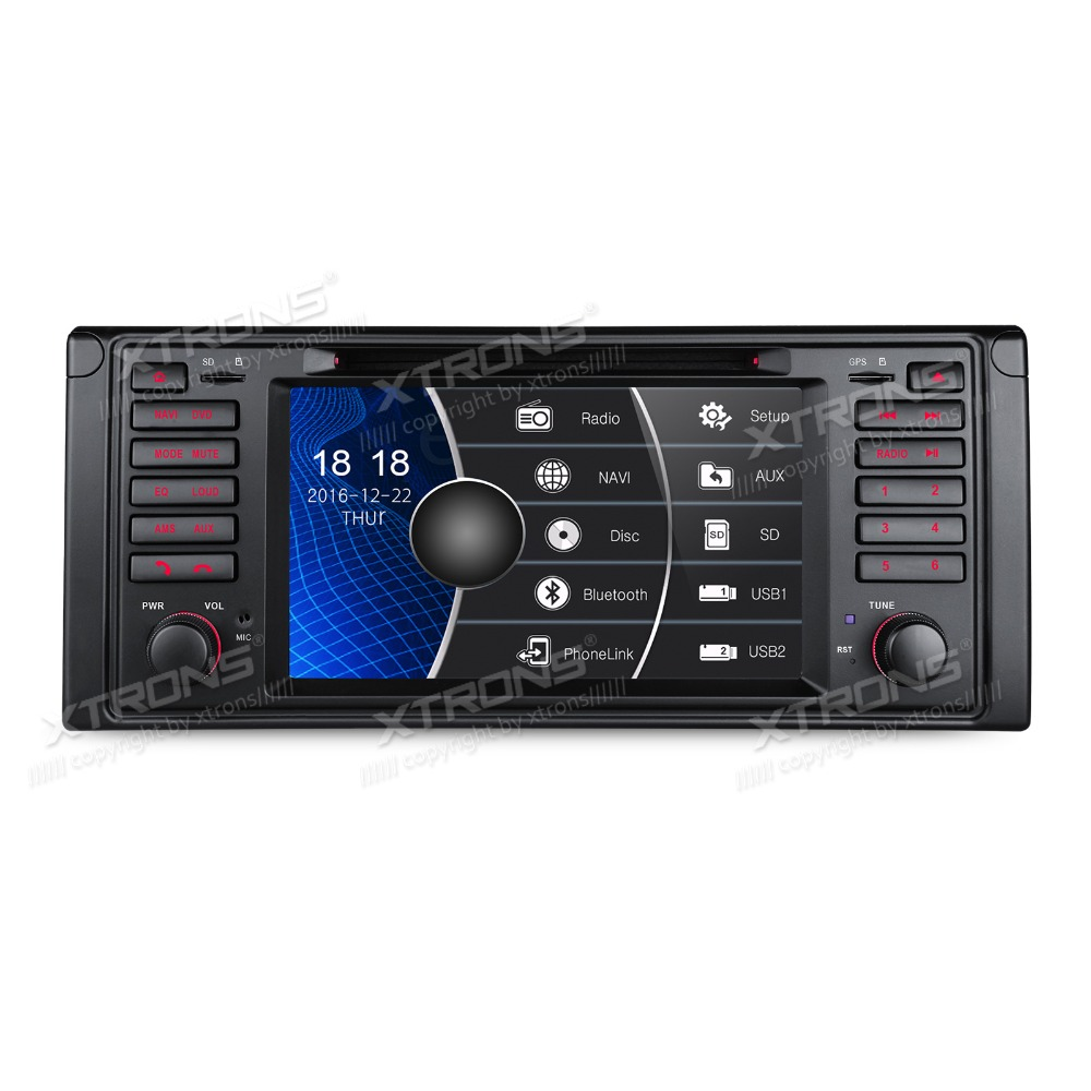 xtrons 7 39 39 touch screen radio 1 din car dvd player gps. Black Bedroom Furniture Sets. Home Design Ideas