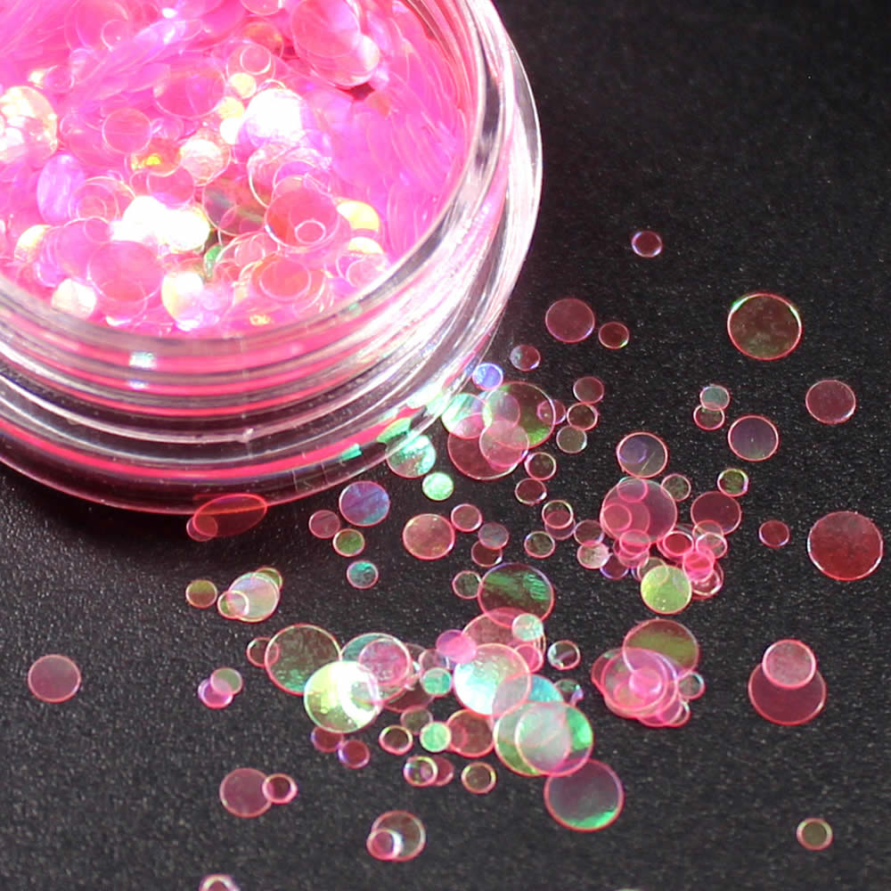 1 коробка блестящие круглые ультратонкие блестки Красочные Блестки для дизайна ногтей УФ гель 3D декоративный Маникюр DIY аксессуары NR234 - Цвет: Коричневый