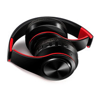 Stereo Foldable Headphones Headphones For Girls With HD Mic Portable Wireless Earphones For Xiaomi Mp3 Support