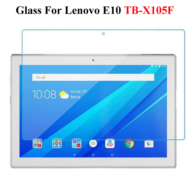 9H Tempered Glass For Lenovo Tab E7 E8 E10 Screen Protector Film For Lenovo Tab M10 P10 10.1 Inch Tempered Protective Glass Film