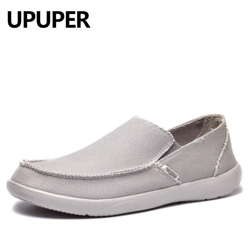 Toile Chaussures Hommes Respirant Casual Chaussures Hommes Chaussures Mocassins Doux Confortable En Plein Air Plat Paresseux Chaussures pour Hommes Chaussure Homme