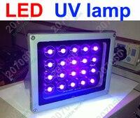 Professional LED UV lamp LOCA Glue GEL Curing Light Ultraviolet Lamp for Screen Digitizer LCD Repair 6pcs/lot