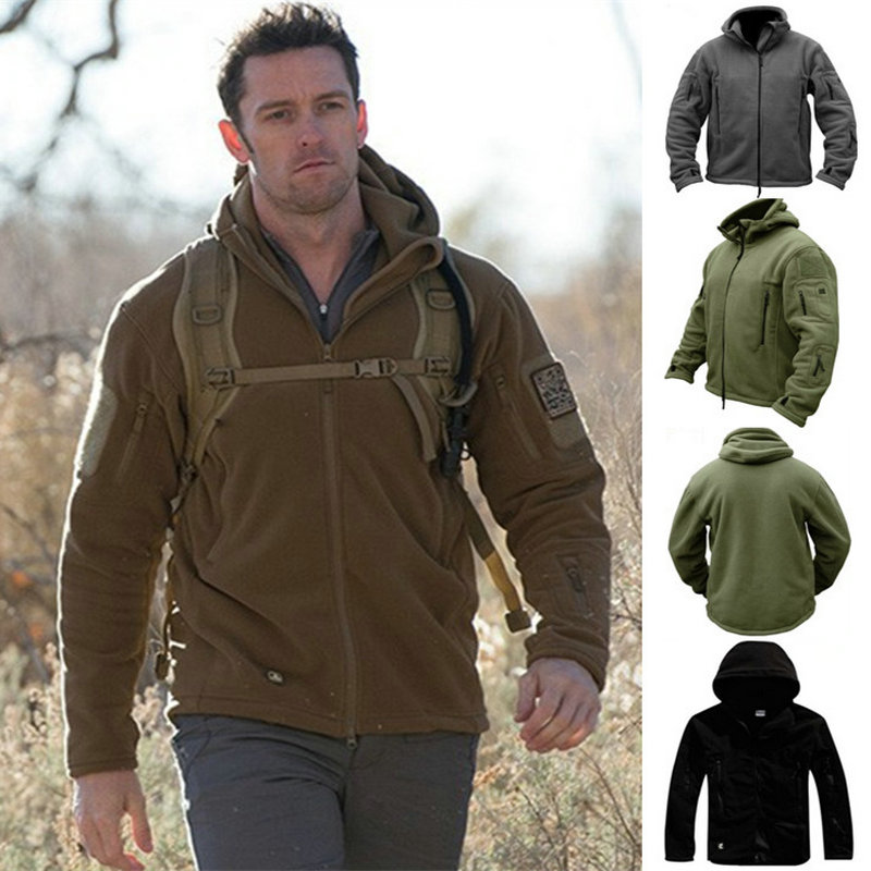 Brand New Military Men Fleece Tactical Jacket