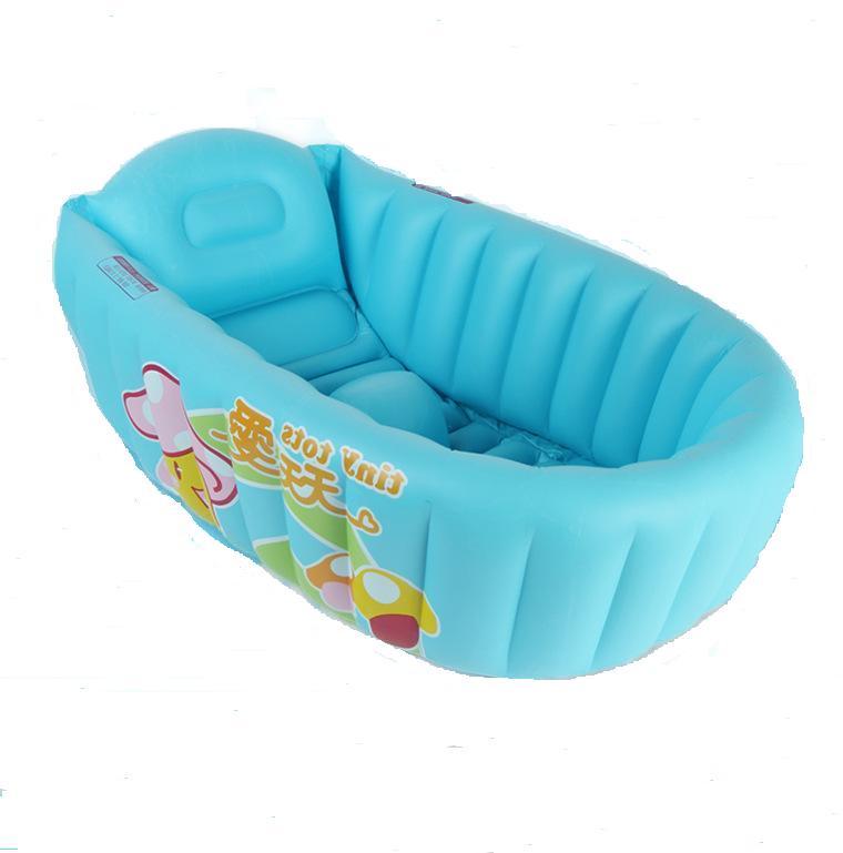 inflatable baby bathtub,newborn kids bathtub bath basin,portable ...