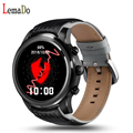 Lemado lem5 android 5.1 bluetooth smart watch phone bluetooth/gps/wifi com suporte de pulso pk lem4 lf16