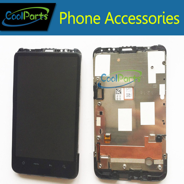 Replacement Part For HTC G10 Desire HD A9191 A9199 LCD Display and Touch Screen Digitizer With Frame 1PC/Lot Free Shipping