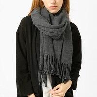 New Korean Version Of The Fall And Winter Scarves Female Wild Fashion Tassel Bag Korean Wool
