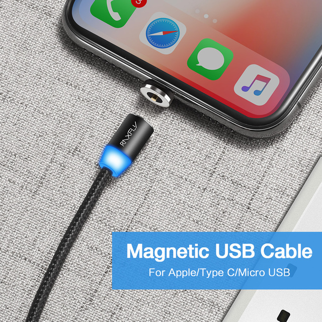 2in1 Magnetic Cable Type C Micro USB Cable