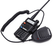 BAOFENG BF 888S UV5R Acessórios de Rádio Em Dois Sentidos Handheld Walkie Talkie Microfone Microfone Microfone Ombro