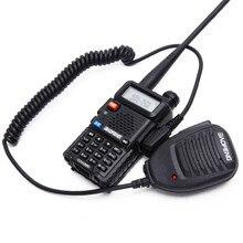 BAOFENG BF 888S UV5R Walkie Talkie Microfoon Accessoires Twee Manier Radio Handheld Microfoon Schouder Microfoon