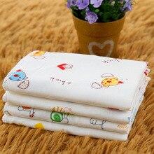 Милые детские квадратные носовые платки для мальчиков и девочек с рисунком курицы, коровы, лошади, кролика, полотенце FS0654