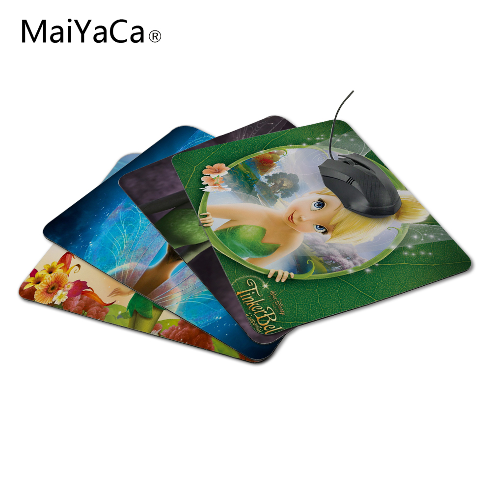 MaiYaCa Luxury Print 1 PC of Tinkerbell Design Laptop Special Style Laptop Gamer Gaming Optical Laser Non Slip PC Mouse Pad
