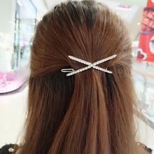 Crystal Geometric Hair Clip Metal Hair Clips Barrette Hairpin Bobby Pins Hair Headdress Accessories Styling Tools For Women Girl