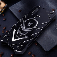 Case For HUAWEI P20 Pro lite Nova3 case Aluminum Alloy Metal Shockproof Anti Knock Bumper Luxury Phone Cover Case FOR honor v10