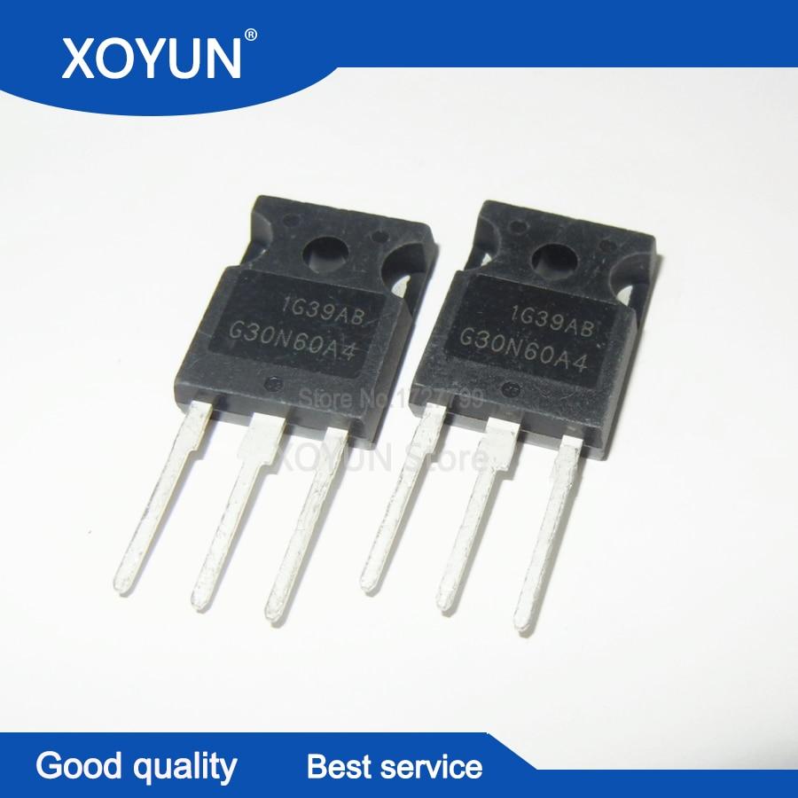 5PCS HGTG30N60A4 G30N60A4 TO247 IGBT Free Shipping