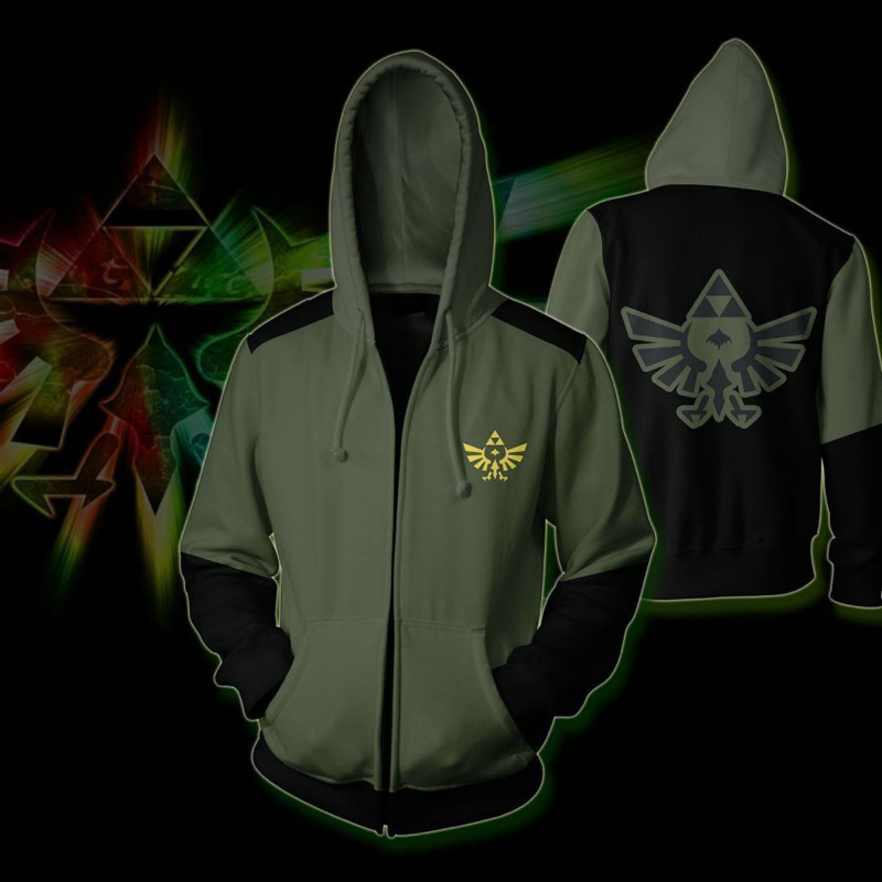 Anime  Game  Legend of Zelda Breath of the Wild 3D Printed Hoodies Sweatshirts Jacket Hip Hop Costume