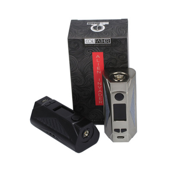 COIL FATHER 219w Mod 510 TC Vape for Electronic Cigarette suit with 18650 Battery and Sigelei Revolvr Tank