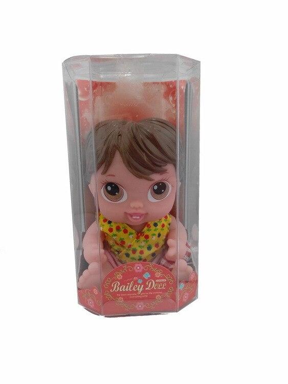7inches Reborn Baby Doll Flyttbara Lämnar Mjuk Vinyl Silikon Livlig - Dockor och tillbehör - Foto 4