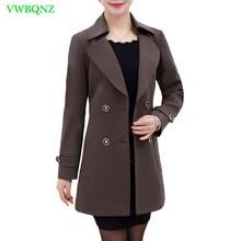 Spring Autumn New Windbreaker Coat Women Fashion Plus size Trench Coat