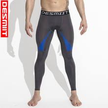 4254bc8c6 Jogging Pantalones hombres deporte Leggings Pantalones de correr larga  Pantalones sudor de secado rápido gimnasio fitness
