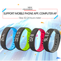 A7 Inteligente Esporte Pulseira Pedômetro Distância Calorie Counter Monitor de Sono Atividade Rastreador Suporte APLICATIVO de Telefone Móvel