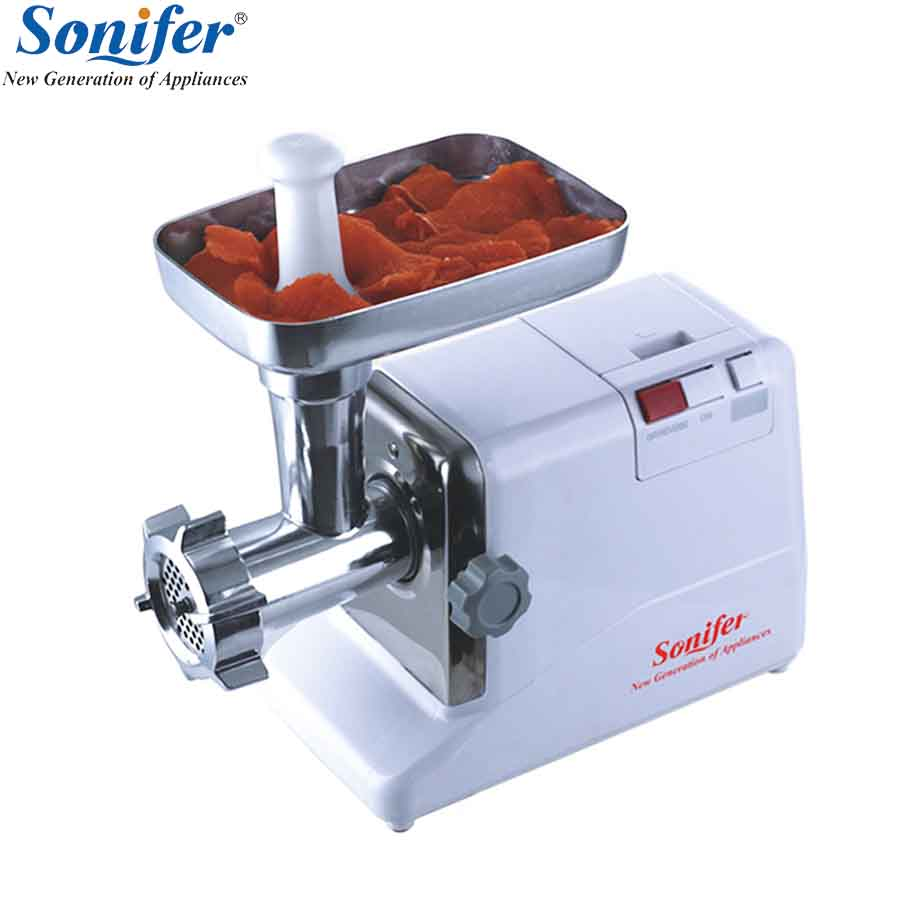 2000W High-quality Household Grinder Food Processor Electric Meat Grinder Sausage Stuffer Mincer Heavy Duty Household Mincer 110 240v electric meat grinder heavy duty household commercial sausage maker meats mincer food grinding mincing machine