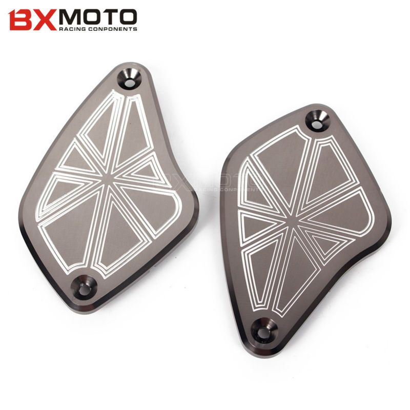New Motorbike Parts Front Fluid Reservoir Cap Cover Brake Clutch Cover For DUCATI Diavel 2011 2012 2013 2014 2015