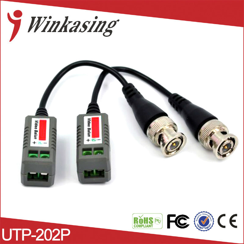 10PCS/5PAIRS   HOT SALE TWISTED BNC PASSIVE VIDEO BALUN FOR CCTV  CAMERA  FERR SHIPPING
