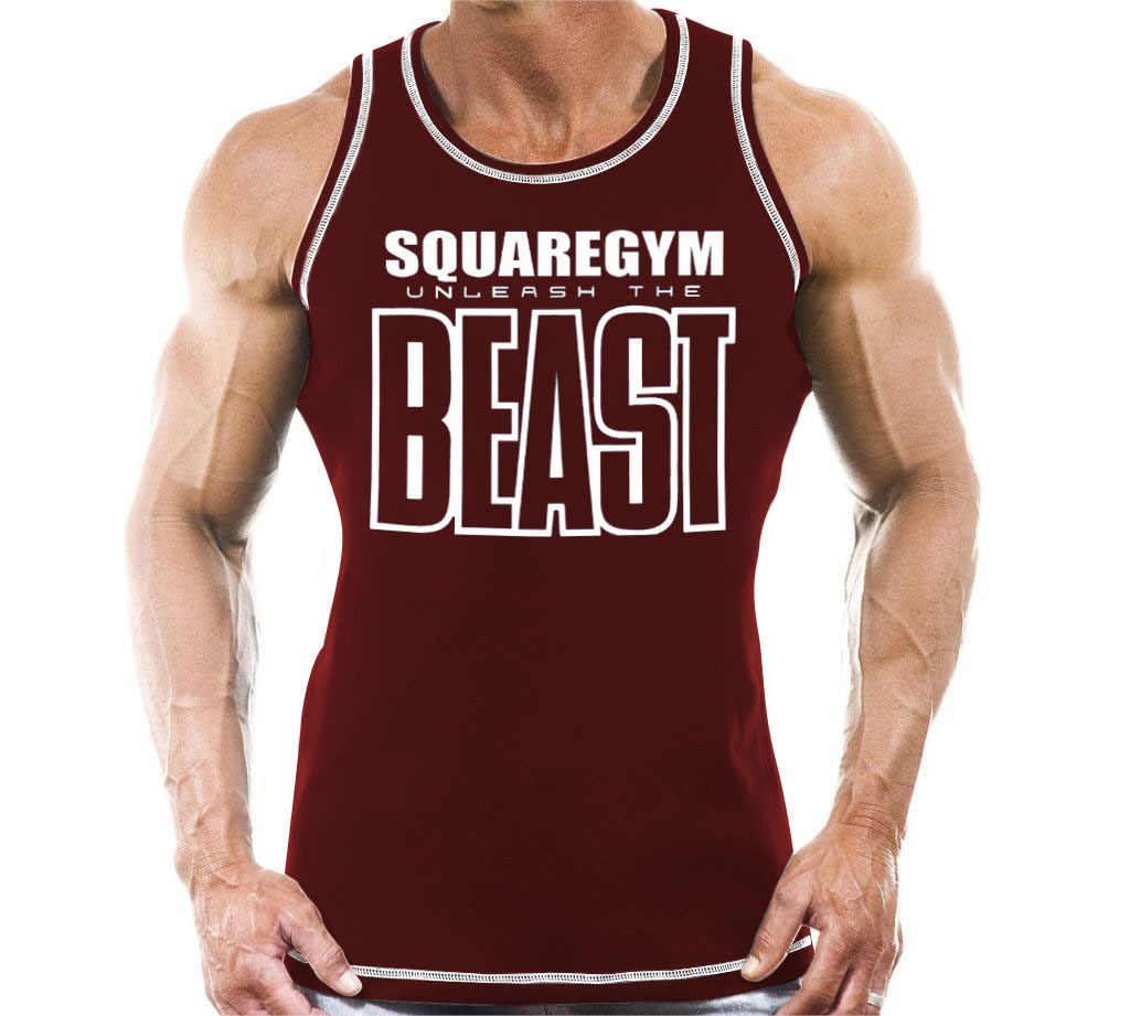 2018 Fashion Seven Joe New Tops Singlet Brand Clothing Fitness Men Tank Top BEAST Print Mens GYMS Bodybuilding Stringers Tank