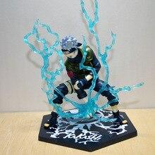 Anime Naruto Brinquedos Action Toy Figures Chidori Figure Hatake Kakashi Sasuke Lightning Release