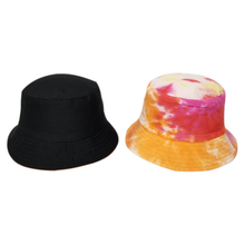 Women Bucket Hat Fashion Concise Casual Colorful Double Wear Sunscreen Beach Travel