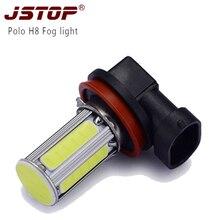 For model Vw fog lamps H8 6COB canbus 24V Super bright led External Lights No errorH8