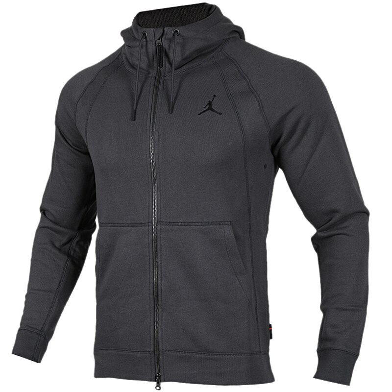 US $108.32 18% OFF|Original New Arrival NIKE AS JSW WINGS FLEECE FZ Men's Jacket Hooded Sportswear in Running Jackets from Sports & Entertainment on