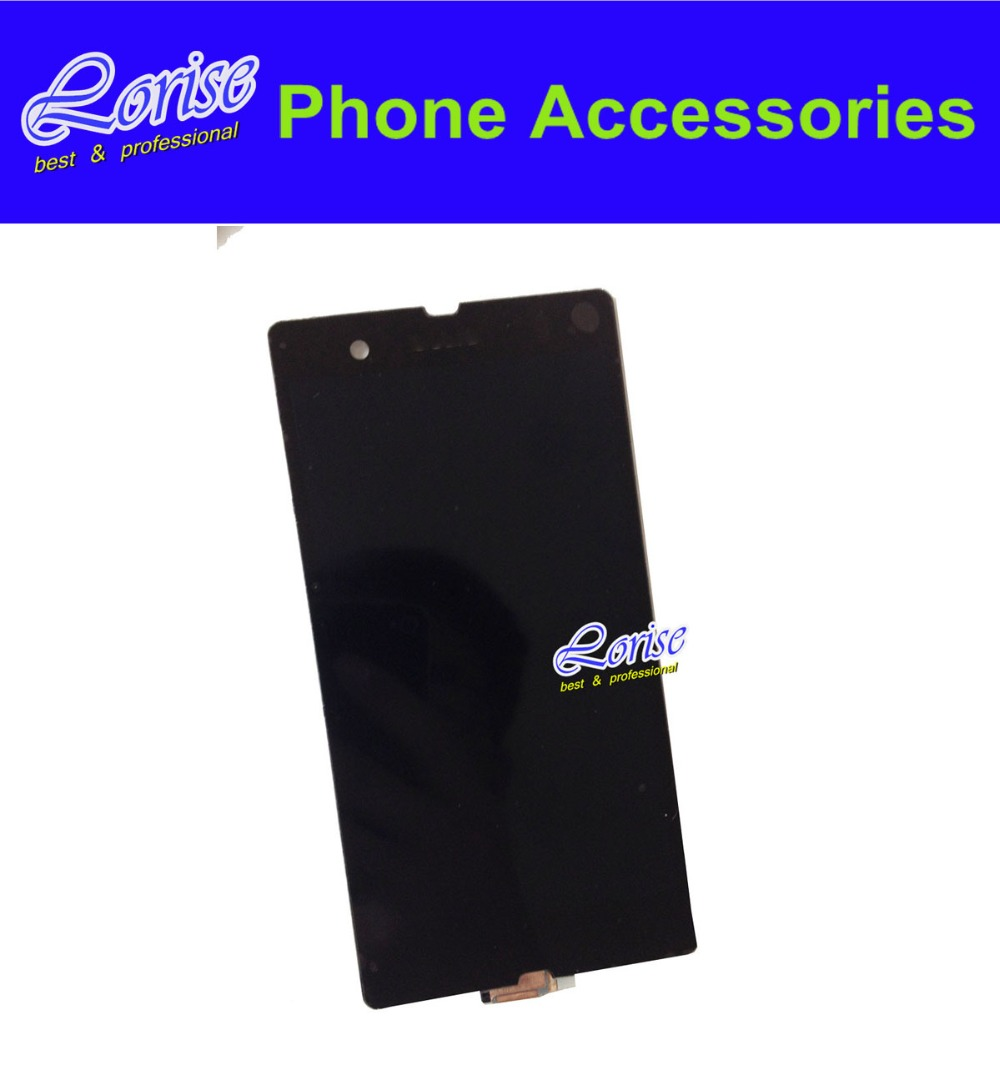 Original 1PC For Sony Xperia Z L36h L36i C6606 C6603 C6602 C660x C6601 LCD Display Digitizer Touch Screen Assembly