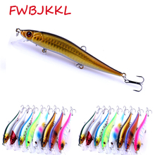 1PC Sizzling 11.5cm/13.1g Pesca Life Like Fishing Lure Wobbler For Lake River Bait  3D Eyes Real looking Pores and skin Fishing Bait