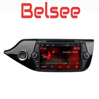 Belsee Android 8.0 DVD Player for Kia Ceed Car Radio Head Unit IPS Touch Screen 4GB Ram PX5 Core GPS Navigation WiFi Bluetooth