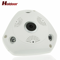 Newest 360 Degree Panorama VR Camera HD 960P Wireless WIFI IP Camera Home Security Surveillance System