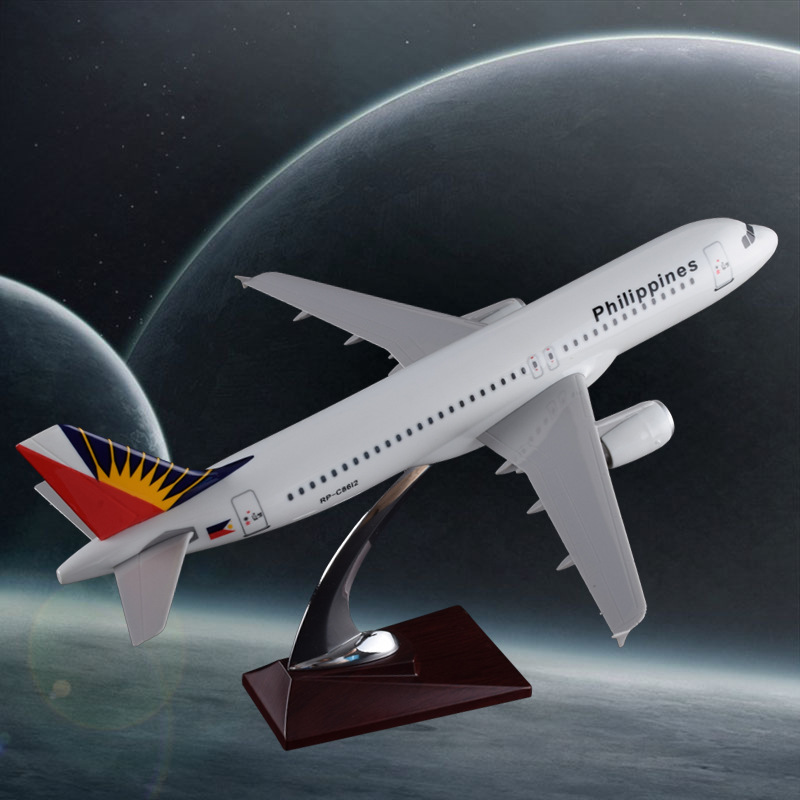 37cm Resin A320 Philippines Airlines Model A320 Airplane Airbus Model Philippines International Airways Aviation Aircraft Model