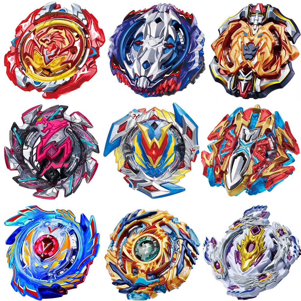 лучшая цена B-120 Beyblade Burst God B-117 B-115 B-110 Bey blade blades With Launcher High Performance Battling Top Toys For Kids Bayblade