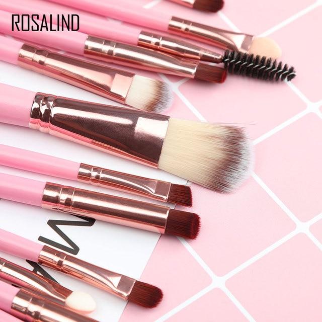 ROSALIND Makeup Brushes 20Pcs Professional Set Powder Foundation Eyeshadow Make Up Brushes Cosmetics Soft Synthetic Hair 3