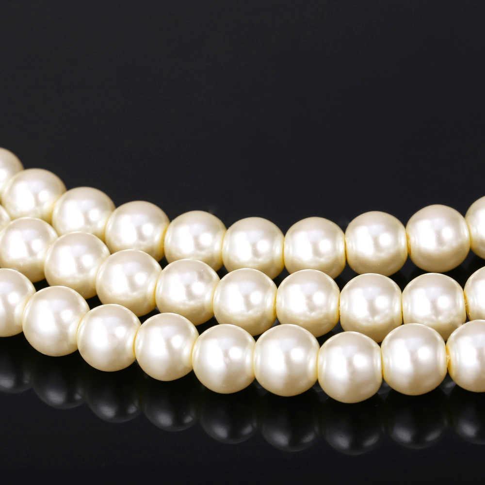 U7 Simulierte Perlenschmuck Set Für Frauen Trendy Partei Strass Multi Layer Halskette Armband-Sets S743