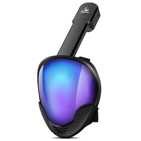 Máscara de Mergulho Máscara de Natação Máscara de Mergulho para Gopro Novo Rosto Cheio Conjunto Mergulho Subaquático Treinamento para Gopro Câmera 2020